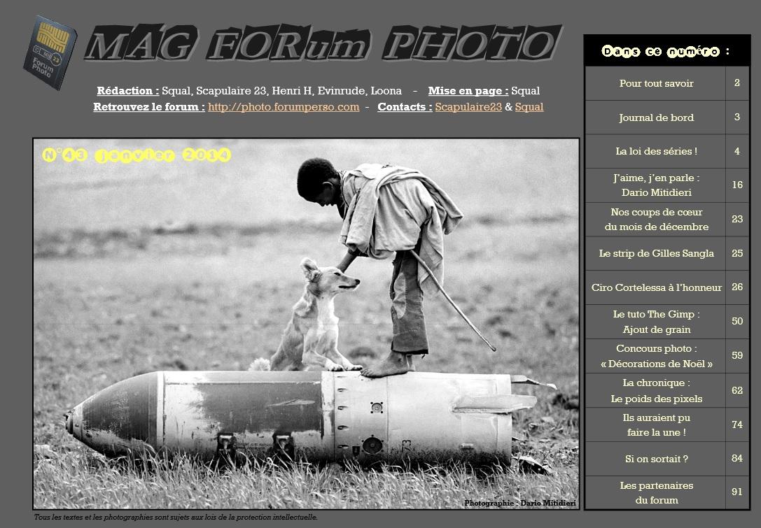 Magazine du forum N°43 janvier 2014