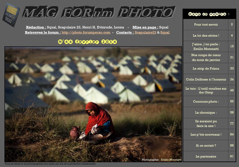 Magazine du forum N°44 février 2014