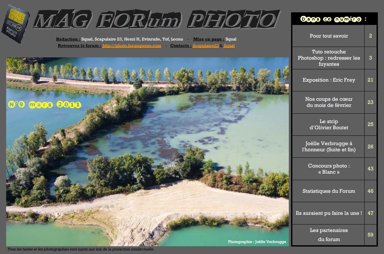 Magazine du forum N°9 Mars 2011